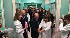Inaugurati il Centro di Senologia clinica e screening mammografico ed il Centro Vaccinazioni al Binaghi di Cagliari