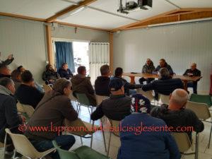 I lavoratori ex Alcoa aderenti alla Confsafi chiedono tempi certi per il riavvio della produzione.