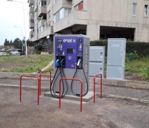 Anche in Sardegna la ricarica veloce delle auto elettriche.