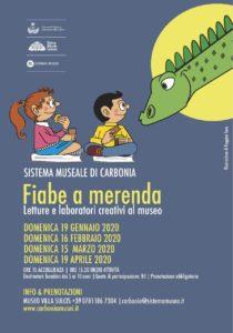 """Prende il via domenica 19 gennaio, a Carbonia, l'evento """"Fiabe a merenda""""."""