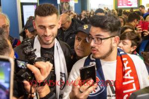 Il Cagliari ha definito oggi l'acquisto del centrocampista/attaccante uruguayanoGastón Pereiro