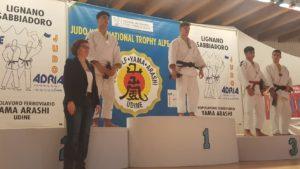 Marco Battino al comando della classifica nazionale cadetti 66 kg di judo