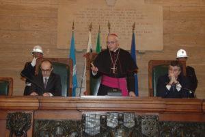 Il Consiglio comunale ha salutato questa sera il nuovo arcivescovo di Cagliari, Giuseppe Baturi