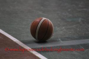 Basket: in serie C alle 18.30 il Veliero Calasetta gioca a Porto Torres, in serie D S.B. Carbonia-Azzurra Oristano.