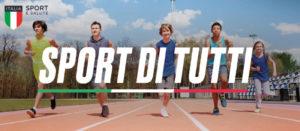 """Entro il 31 gennaio le adesioni al progetto """"Sport per tutti""""."""