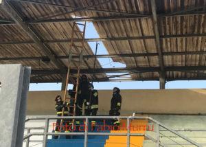 Inizieranno venerdì i lavori di rimozione della copertura della tribuna dello stadio comunale di Carbonia