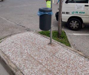 A Carbonia,la De Vizia Transfer SpA, la società che gestisce il servizio di igiene urbana, ha iniziato l'installazione di 60 nuovi cestini portarifiuti.
