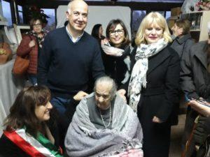 Bacu Abis in festa per il 100 anni di nonna Ines