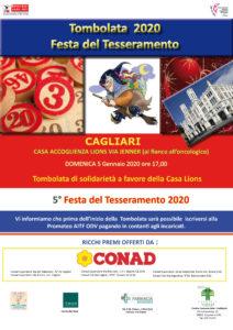 Domenica l'associazione di trapiantati Prometeo organizzerà l'ormai tradizionale tombolata benefica presso Casa Lions.