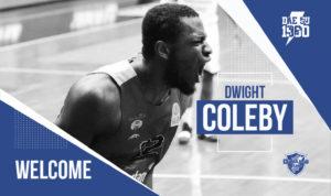 La Dinamo Banco di Sardegna ha ufficializzato l'accordo con l'atleta bahamense Dwight Coleby