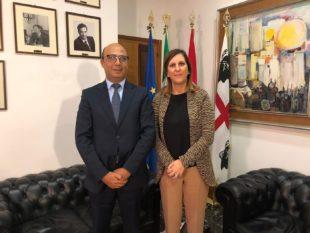 La vicepresidente della Regione ha incontrato il ministro plenipotenziario dell'ambasciata di Tunisia, Wissem Mhadhbi