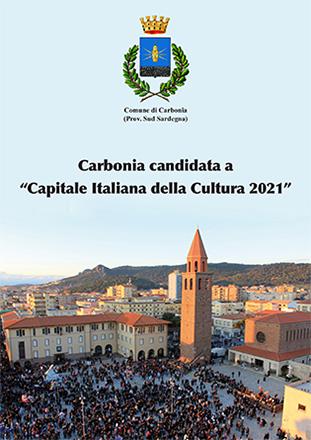 """Carbonia candidata a                                   """"Capitale Italiana della Cultura 2021"""""""
