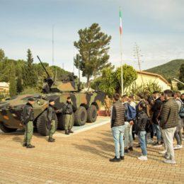 """Si è svolta ieri, nella caserma """"S. Pisano"""", la 2ª tappa regionale dell'""""Open Day VFP1″"""