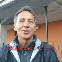Uno spettatore d'eccezione per Real Monterotondo Scalo-Carbonia: Fernando Bianchini