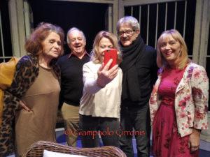 """Altra serata """"magica"""", ieri sera, al Teatro Centrale di Carbonia, con la commedia """"Quartet"""""""