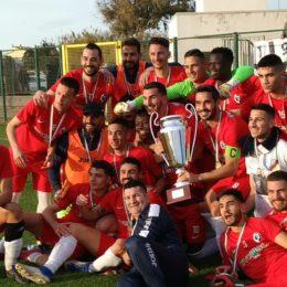 Il Carbonia ha vinto la Coppa Italia di Eccellenza 2019/2020. Battuto in finale l'Atletico Uri 1 a 0 con goal di Giuseppe Meloni