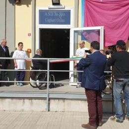 E' stato inaugurato oggi, a Selargius, il primo Centro regionale di avviamento allo sport paralimpico