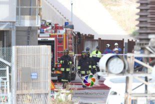 """Si sono vissuti momenti di paura, ieri, nella Centrale termoelettrica """"Portoscuso"""", a causa di un incendio"""