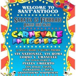 Carnevale Antiochense, sabato 15 febbraio sfilata con maschere e carri allegorici e gran finale in Piazza Umberto
