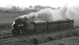 Domenica 1° marzo sarà a Carbonia un antico treno a vapore con a bordo 215 turisti