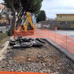 Carbonia: nuovi interventi del Comune in viale Arsia, bitumazione e percorso pedonale