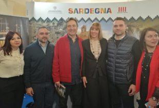 A Tourisma 2020, Mario Tozzi ha visitato lo stand dell'Unione dei Comuni della Trexenta