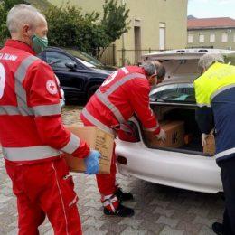 Si moltiplicano le donazioni di materiale protettivo e igienico per il personale del Sirai
