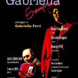 """""""Donne e Memoria"""", a Sant'Antioco va in scena l'omaggio a Gabriella Ferri"""