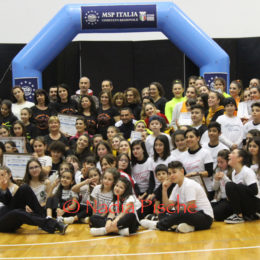 Grande successo, al Palazzetto dello sport di Carbonia, per l'evento organizzato il 1° marzo dal MSP Italia