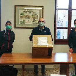 Il comune di Villamassargia ha consegnato 80 mascherine FFP2 e 70 FFP3 alla responsabile del 118 di Iglesias