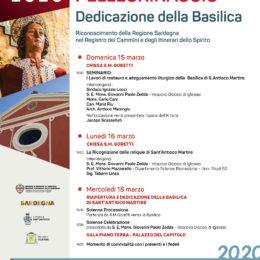 15, 16 e 18 marzo: tre giorni di eventi per celebrare la riapertura della Basilica di Sant'Antioco Martire