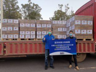 Un ponte di solidarietà tra la Sardegna e la Cina per affrontare l'emergenza Covid-19