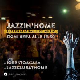 #Jazzin'Home: il jazz di qualità in concerto a casa tua, tutte le sere, alle 19.30, su Facebook
