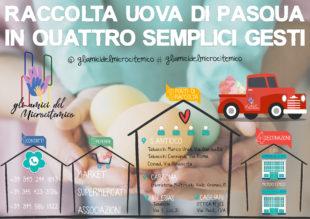 E' iniziata la raccolta delle uova di Pasqua per i bambini del Microcitemico di Cagliari e del CTO di Iglesias