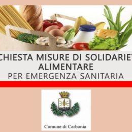 Il comune di Carbonia ha pubblicato l'avviso per l'accesso alle misure urgenti di solidarietà alimentare