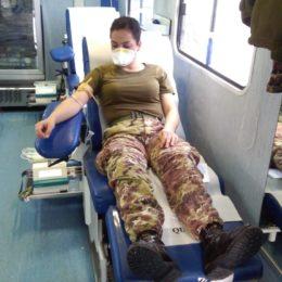 """Il Battaglione Trasmissioni """"Gennargentu"""" oggi ha organizzato una nuova raccolta di sangue"""