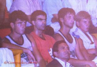 Giorgio Vacca (basket), Giuseppe Lai (volley), Floriano Congiu (calcio), il talento naturale al servizio della squadra