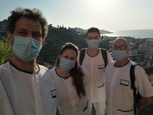 E' operativo da oggi, nel reparto Malattie infettive alta intensità dell'Ospedale di Sanremo, l'infermiere di Carbonia Renato Loddo