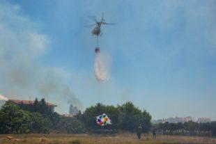Oggi in Sardegna sono stati segnalati 9 incendi, uno dei quali, a Carbonia, ha richiesto l'intervento del mezzo aereo del Corpo forestale