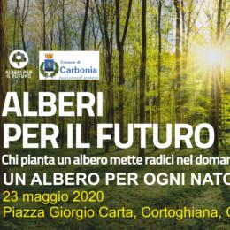 Sabato mattina, in piazza Carta, a Cortoghiana, verranno messe a dimora 10 nuove piante per 10 nuovi nati