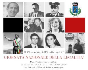 """Sabato 23 maggio, il comune di Villamassargia presenterà il progetto """"Le Vie della Legalità"""""""