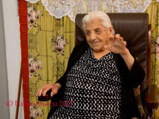 Raffaela Canneddu, la nonnina ultracentenaria di Carbonia, oggi ha compiuto 105 anni