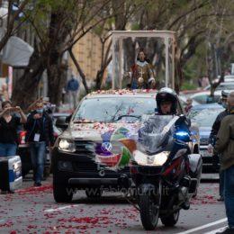 Mons. Giuseppe Baturi ha celebrato, a Pula, il rito religioso in onore di Sant'Efisio