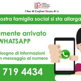 Da oggi i cittadini hanno un nuovo modo per comunicare con Policlinico e San Giovanni di Dio, è attivo il servizio di whatsapp