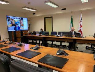 Anche Michele Cossa, presidente della Commissione per l'Insularità, è stato audito dalla commissione Affari costituzionali del Senato