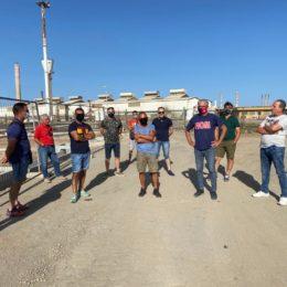 Continua il blocco ai cancelli dell'ex stabilimento Alcoa, oggi Sider Alloys