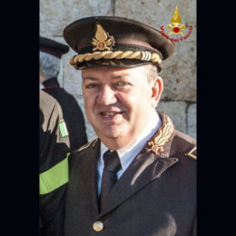 L'ing. Antonio Giordano lascia l'incarico di 1° dirigente vicario del Comando di Cagliari, promosso comandante provinciale dei vigili del fuoco di Nuoro