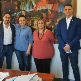 Scambio di reciproche esperienze tra i presidenti dei Consigli comunali di Alessandria, Sassari e Carbonia
