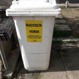 Il comune di Carbonia ha assegnato in comodato d'uso gratuito 200 bidoni carrellati da 240 litri per la raccolta domiciliare di verde e ramaglie