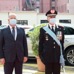 Questa mattina è stato celebrato anche a Cagliari il 206° anniversario della fondazione dell'Arma dei carabinieri
